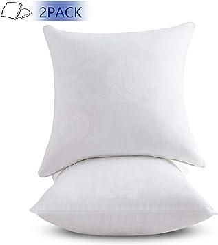 Amazon.com: Emolli - Juego de 2 almohadas de 4,18 pulgadas ...