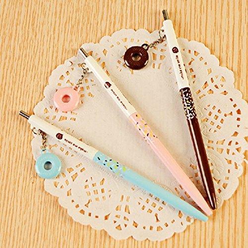 MiiSii(TM) 8pcs Cute Novelty Cartoon Honey Pie 0.5mm Refill Mechanical Pencils Set + FREE GIFT]()