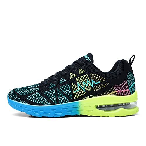 Duberess Women s Air Cushion Athletic Running Sneakers Sport Shoes Lightweight Breathable Gym Walking Shoes