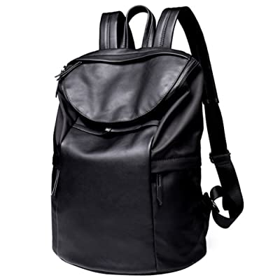 Grande Cuir PU pour ordinateur portable Sac à dos pour l'école Sac de voyage Mode Sac à bandoulière Sac à dos