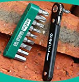 Copter Shop LAOA Thin Handle Ratchet Screwdriver Set Multifunction Maintenance Screwdriver Bits made in Taiwan