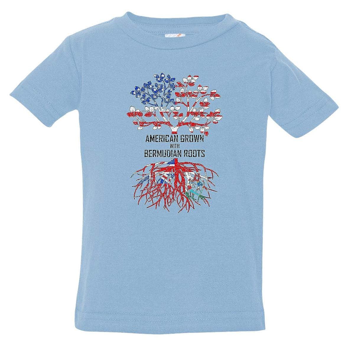 Tenacitee Babys American Grown with Bermudian Roots Shirt