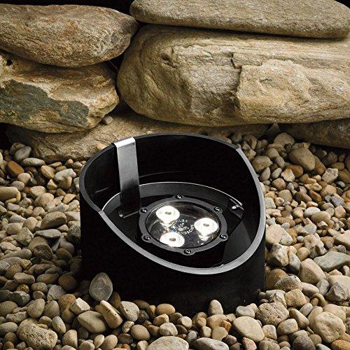 Kichler 15768BKT LED Well (Uplight Semi Flush)