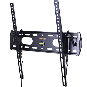 videosecu tv wall mount tilt low profile ultra slim television mount bracket for most 26u0026quot - Tv Mount