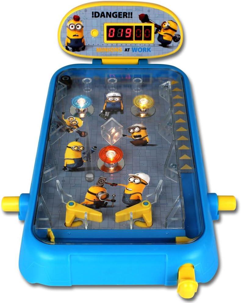 Mesa infantil Flipper - pinball juego - juego de mesa Flipper - juguete para niños Flipper - Ping Flipper Minions: Amazon.es: Hogar