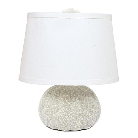 Dei sea urchin beige desk table lamp beach decor 11 cream dei sea urchin beige desk table lamp beach decor 11quot aloadofball Image collections