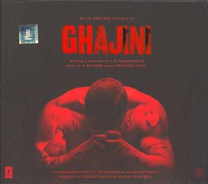 FILM GHAJINI MUSIC TÉLÉCHARGER