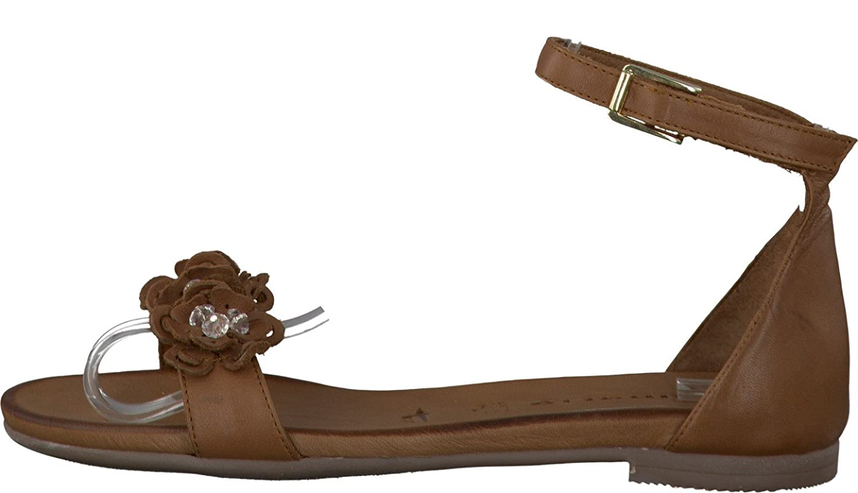 Tamaris Schuhe 1 1 28136 38 Bequeme Damen Sandalette, Sandalen, Sommerschuhe für modebewusste Frau,