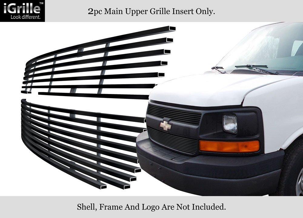 Amazon Fits 2003 2016 Chevy Express Explorer Conversion Van Black Billet Grille C66436H Automotive