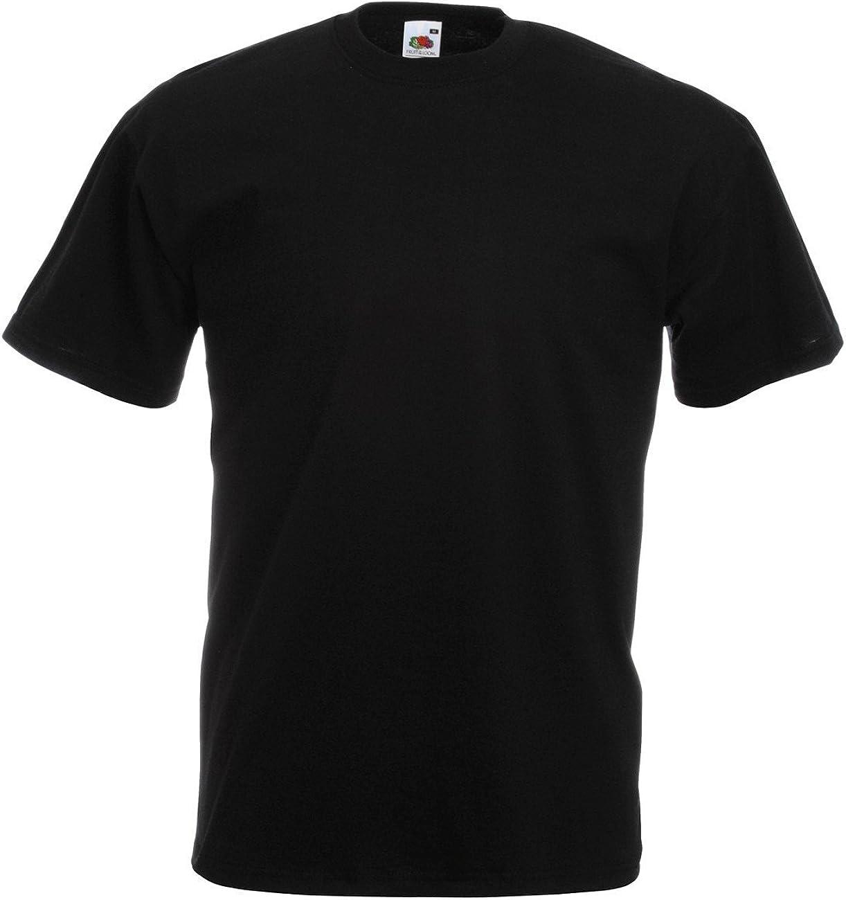 XXXL 13 Colours 3 x Fruit of the Loom Premium 100/% Cotton Polo T Shirt  S