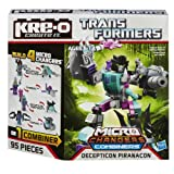 KRE-O Transformers Micro-Changers Combiners Decepticon Piranacon Construction Set (A4475), Baby & Kids Zone