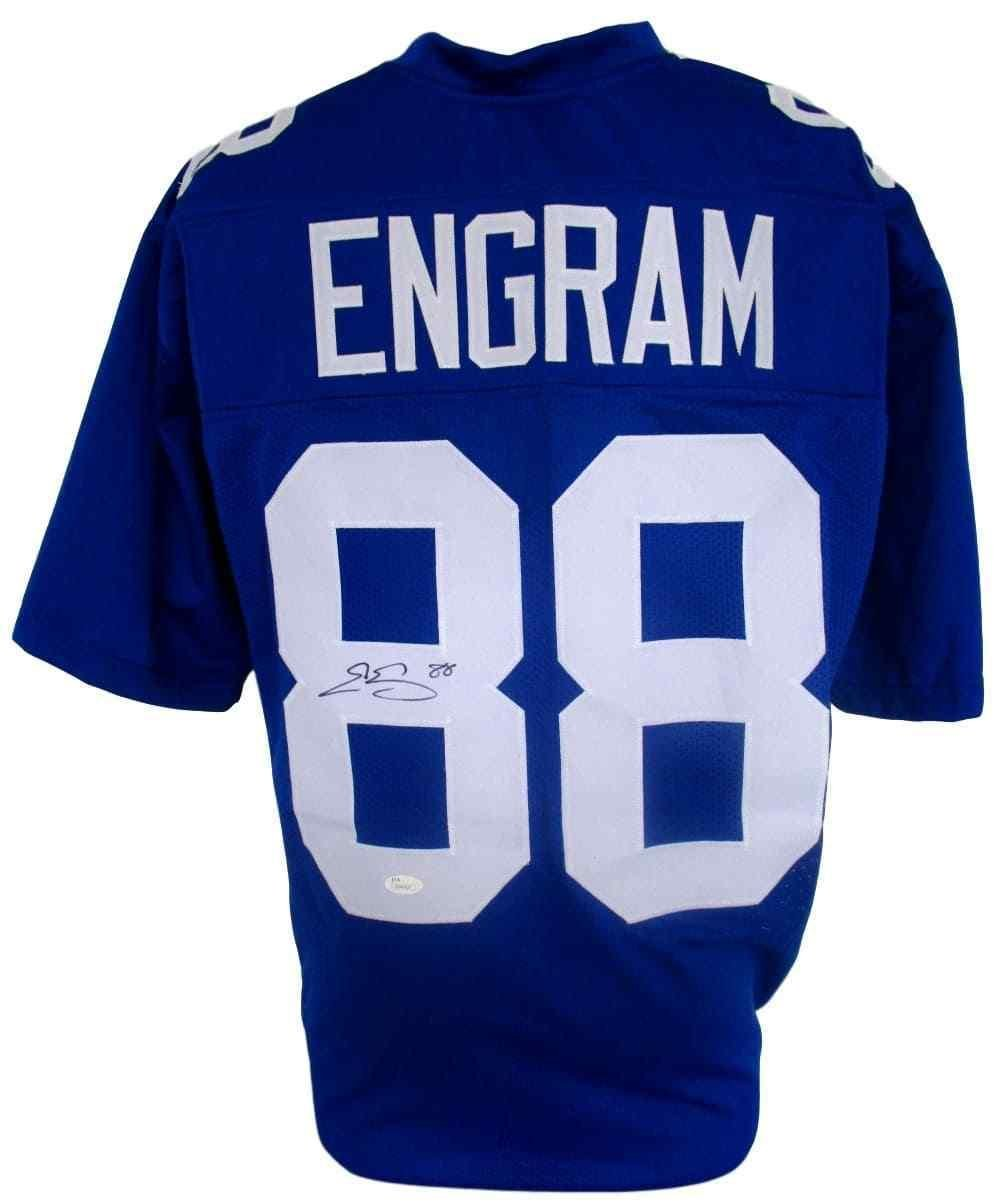 1f85ca55b Amazon.com  Signed Evan Engram Jersey - Blue Custom Pro Style - JSA  Certified - Autographed NFL Jerseys  Sports Collectibles