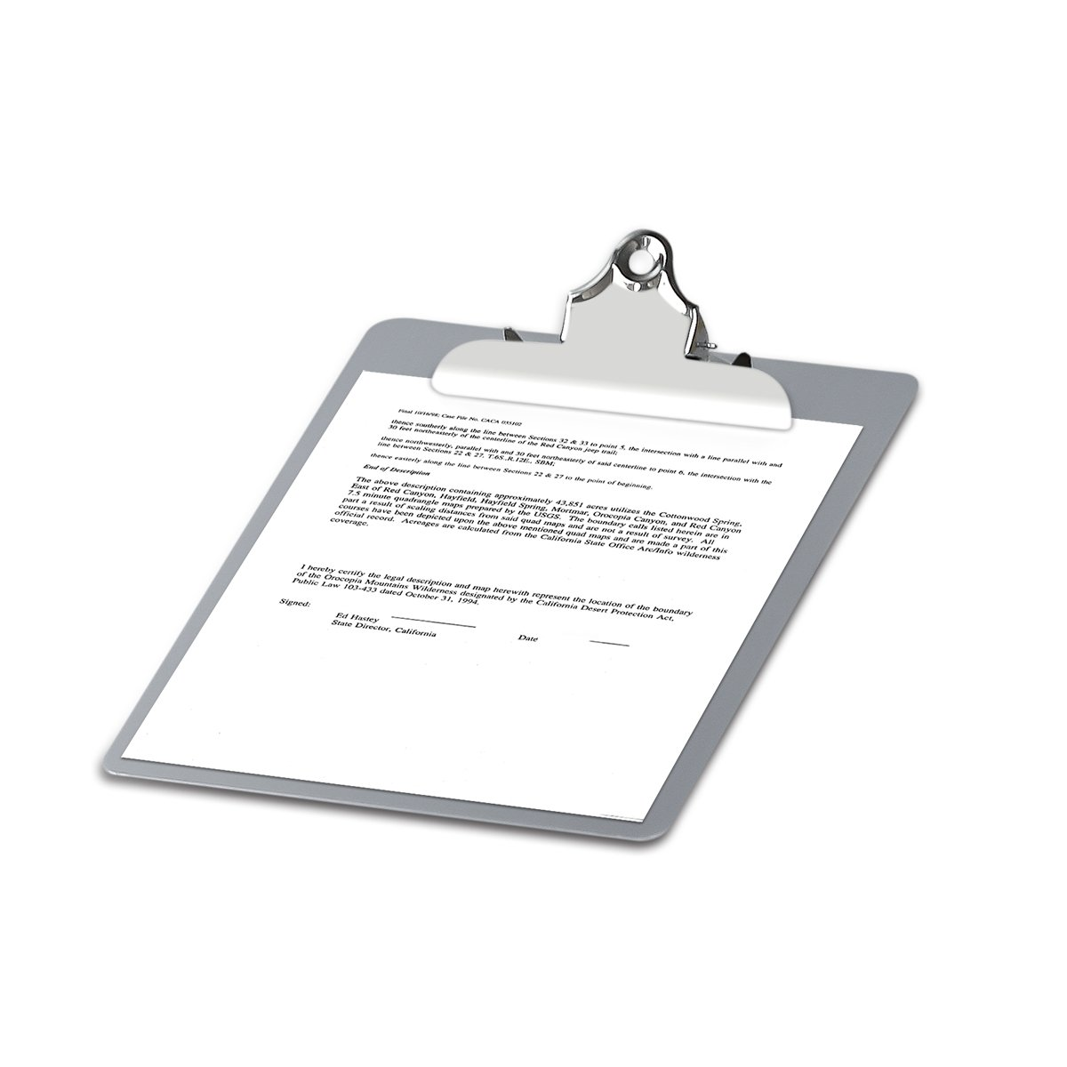 Metal Clipboard Paper Holder Letter Size-Highest Quality File A4 Aluminum Holder for Office Business Steel clipboard by SUNNYCLIP (Image #4)