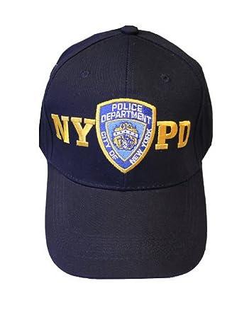 dessin de mode Nouvelle liste personnalisé NYPD NEW YORK POLICE DEPARTMENT Casquette de baseball Bleu ...