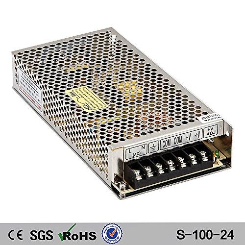 NuNus Netzteil Trafo Schaltnetzteil - 24V 4.5A 100W für 3D Drucker , LED Beleuchtung Stripes , Industrieanlagen, Überwachungskameras uvm...