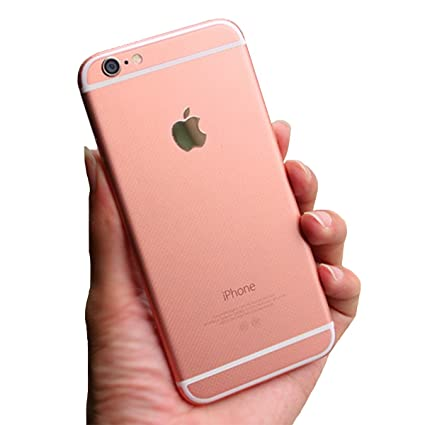 iphone 6 rose gold. toeoe® rose gold [iphone 6s color] sticker full body protector skin for iphone iphone 6