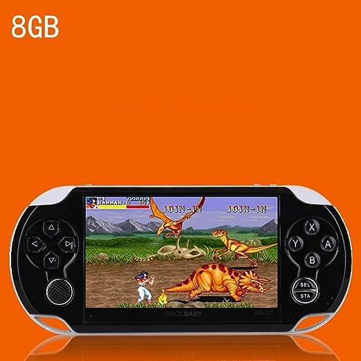 Pinjeer 281 Juegos Clásicos Incorporado Mini Consola Retro de ...