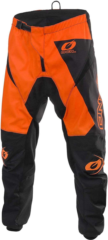 Orange Motocross Pants Oneal Matrix Enduro Off Road Racing Adult Quad Dirt Bike Motorcycle BMX MTB Trouser Black Orange, 30 inches Neon Yellow Pink