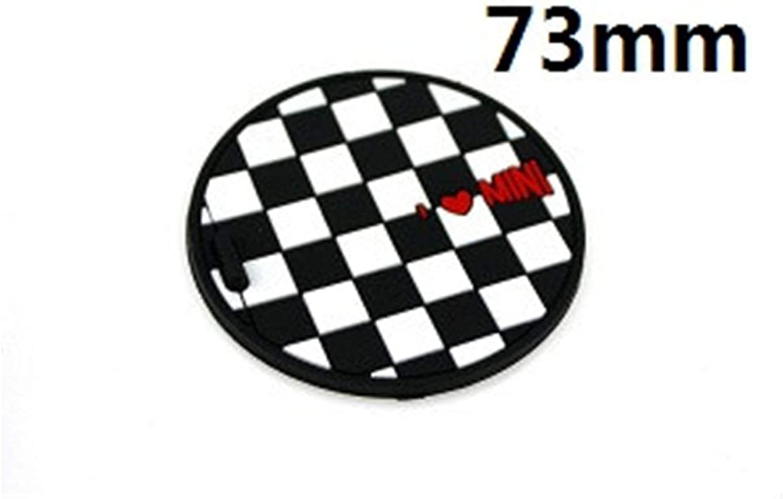Bjjs 2pcs Set 73mm Weiche Silikon Cup Halter Auto Untersetzer Für All Mini Cooper F R Serie Trim 5 Auto