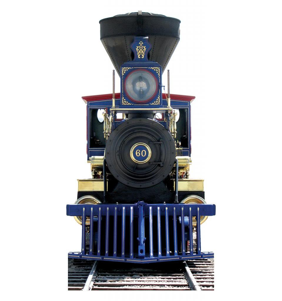 CP 60 Jupiter Train - Advanced Graphics Life Size Cardboard Standup