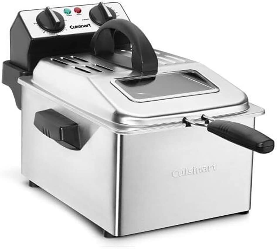 Cuisinart CDF-200P1 Professional Deep Fryer, 1 gallon, Stainless Steel