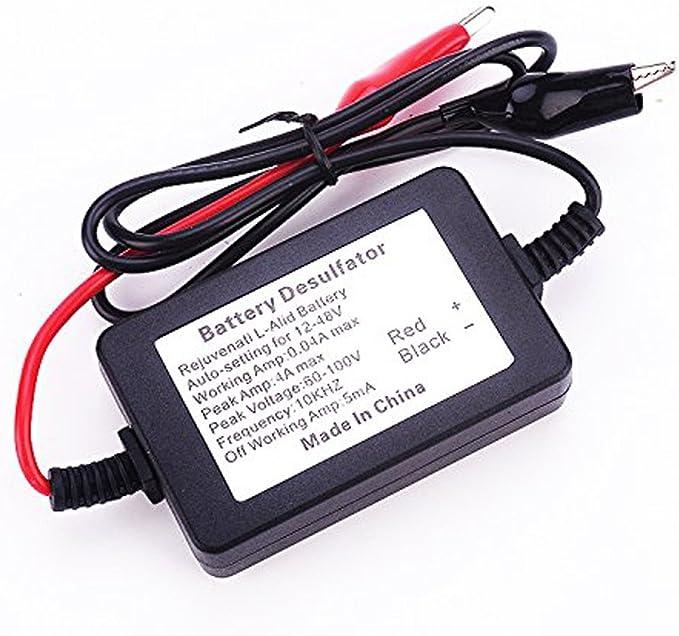 400 Intelligent Auto Pulse Battery Desulfator For Lead Acid Batteries Agm Gel Revive And Regenerate Auto