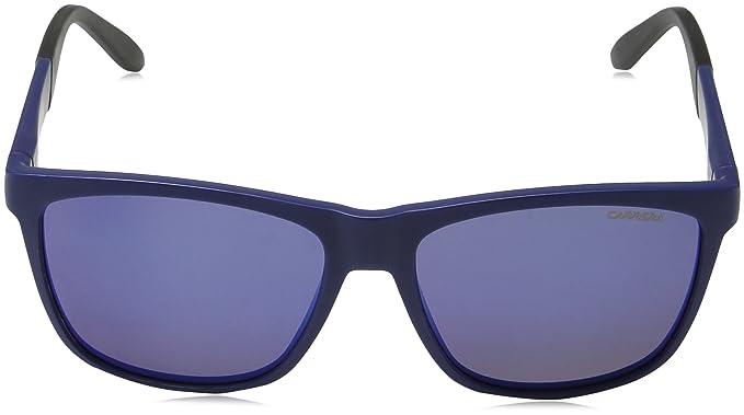 Carrera Unisex-Erwachsene Sonnenbrille 8022/S 5X, Schwarz (Blue), 56