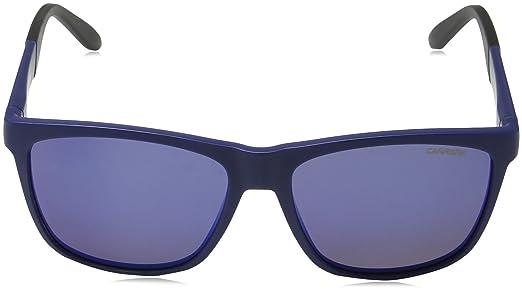 Unisex-Adults 8022/S 5X Sunglasses, Blue, 56 Carrera
