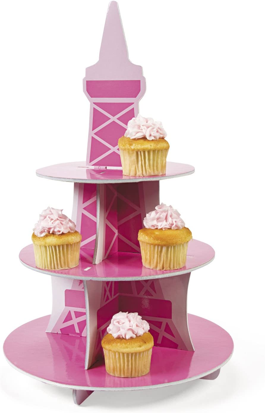 Perfectly Paris Cupcake Holder Foam COMINHKPR95322 19 X 12