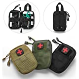 LIVIQILY Tactical Medical kit molle Accessory kit Camping First Aid Kits Medicine Storage Bag Portable Package Emergency Medical Kit Survival Medicine Pills Pocket Container Perfect