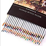 Water Color Pencils, MerryNine Color Pencil 48 Set, Pre-sharpened for Adults and Kids Coloring Books, Nontoxic, Easy Grip, Stress-relievers, Gift-quality Carton-packing (48 Colors,Water Color)