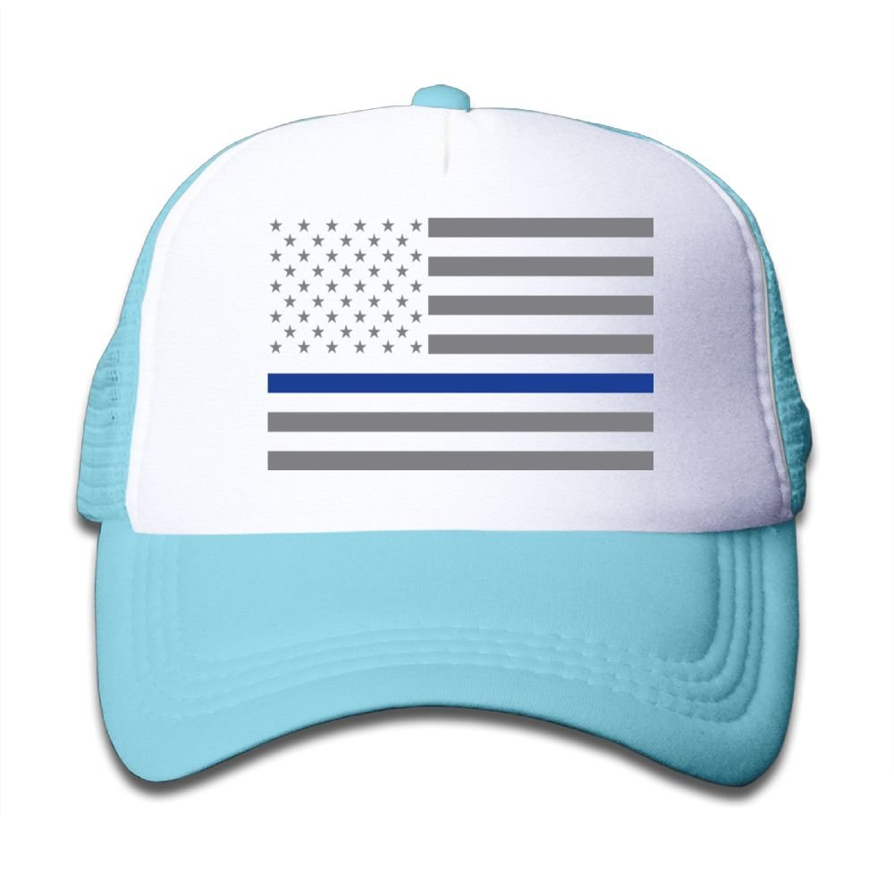 Xin Pilig USA Flag Youth Toddler Mesh Hat Boy and Girl Baseball Trucker Caps