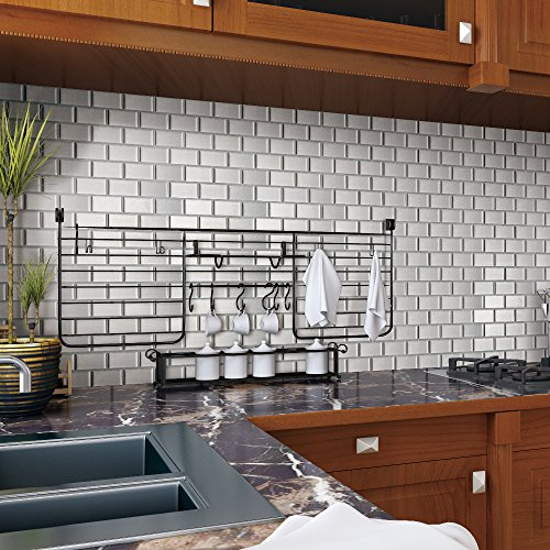 3d Wall Tiles For Kitchen: Ecoart Peel And Stick Self-Adhesive Wall Tile For Kitchen