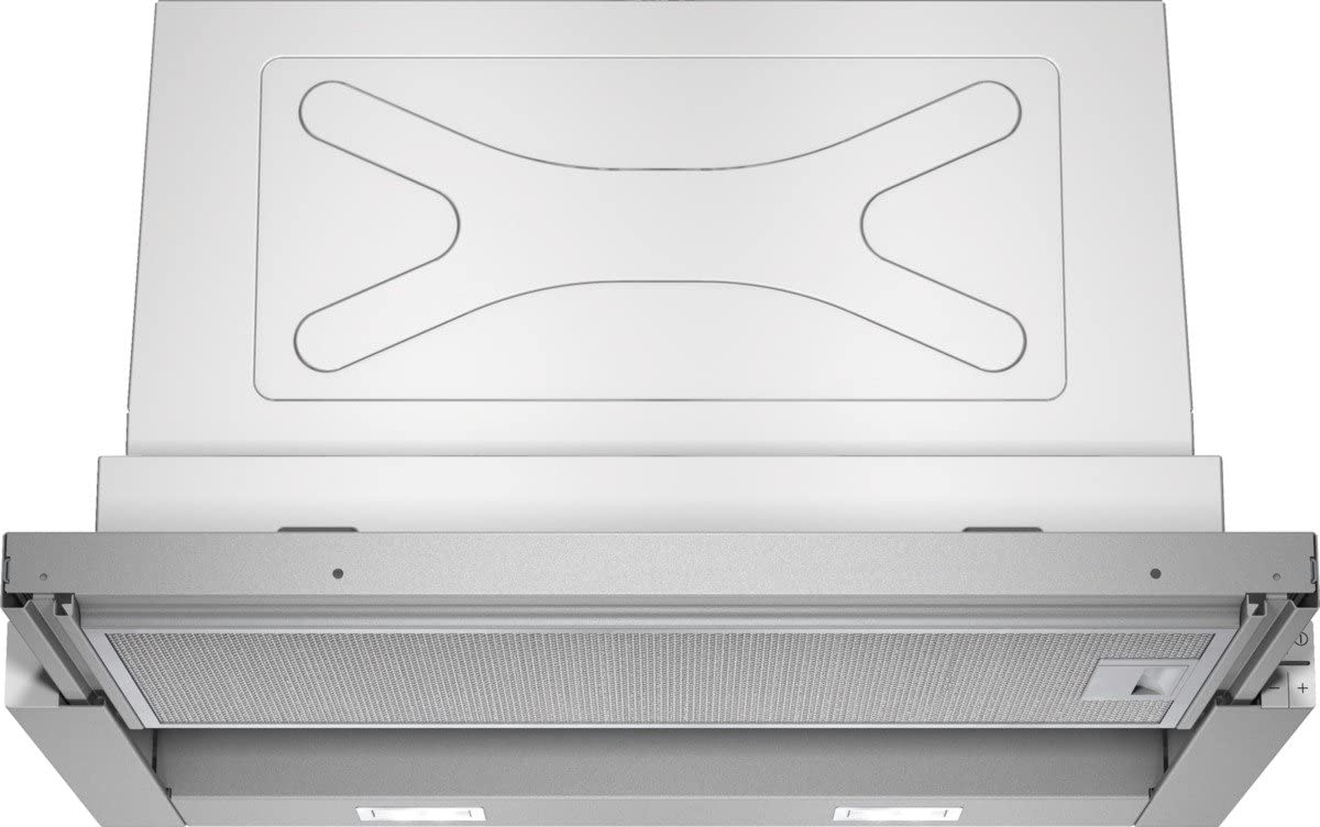 Siemens LI67RA530 iQ300 - Tapa plana para pantalla plana (59,8 cm), color plateado