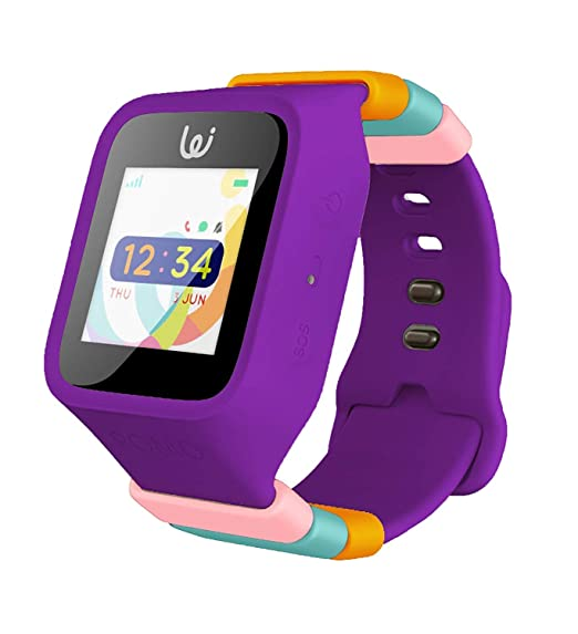iGPS Wizard Smart Watch - Tracking Watch for Kids (Purple)