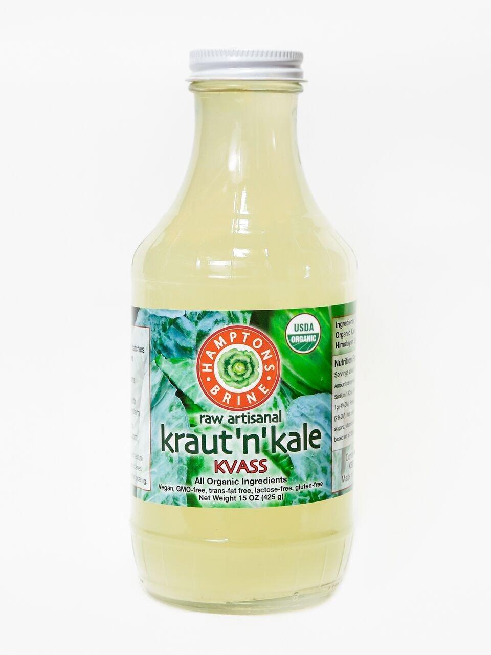 Kraut-N-Kale Kvass