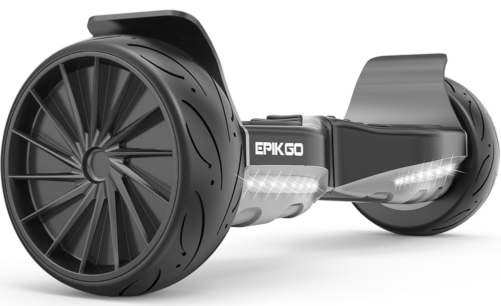 EPIKGO Sport Balance Board Self Balance Scooter Hover Balancing Board -UL2272 Certified, All-Terrain 8.5 Racing Wheels, 400W Dual-Motor,LG Smart Battery, Board Hover Over Tough Road Condition-Black