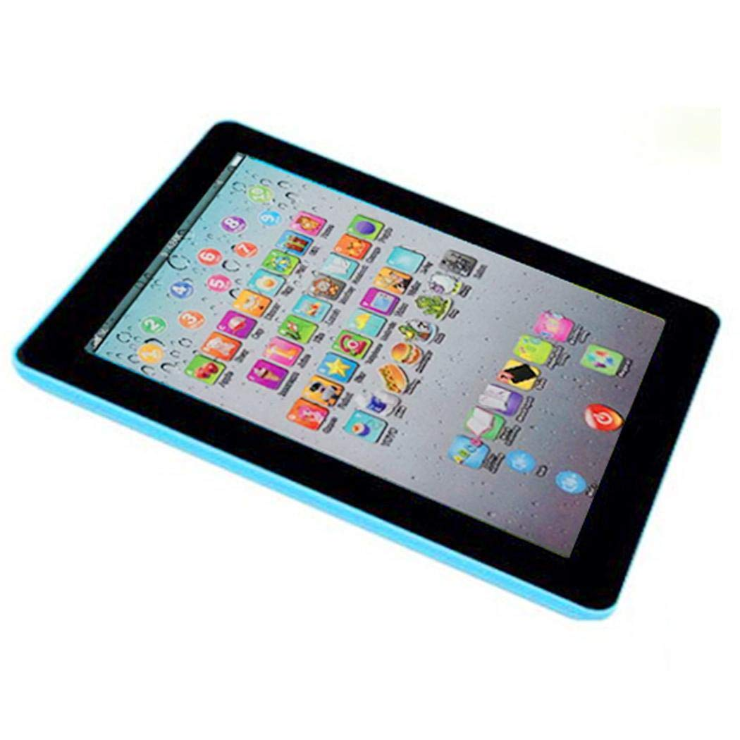 Meflying Kids Pad Toy Pad Computer Tablet Education Learning Education Machine Touch Screen Tab Electronic Systems by Meflying (Image #5)