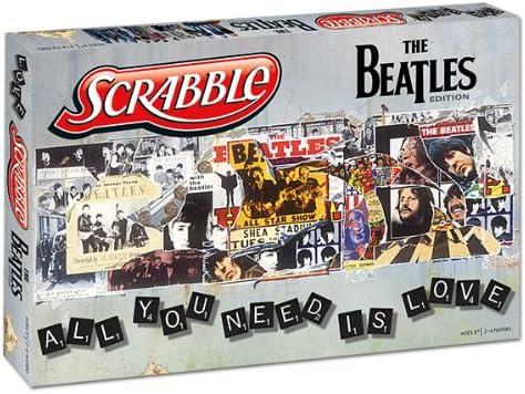 Scrabble: The Beatles Collectors Edition: Amazon.es: USAopoly: Libros en idiomas extranjeros