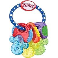Nuby Baby Speelgoed Koelbijtsleutels met 3 sleutels, voor 3 keer langer actieve koude, voor baby's vanaf 3 maanden…