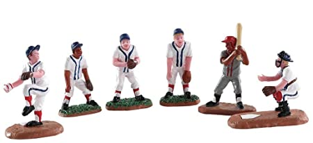 Lemax Village Collection Baseball Buddies, Set of 6 82601