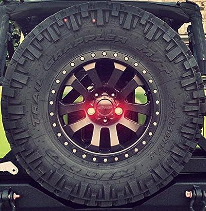 Jeep Wrangler Led Lug Nut Kit de luz resistente Off Road TJ JK Lj ...