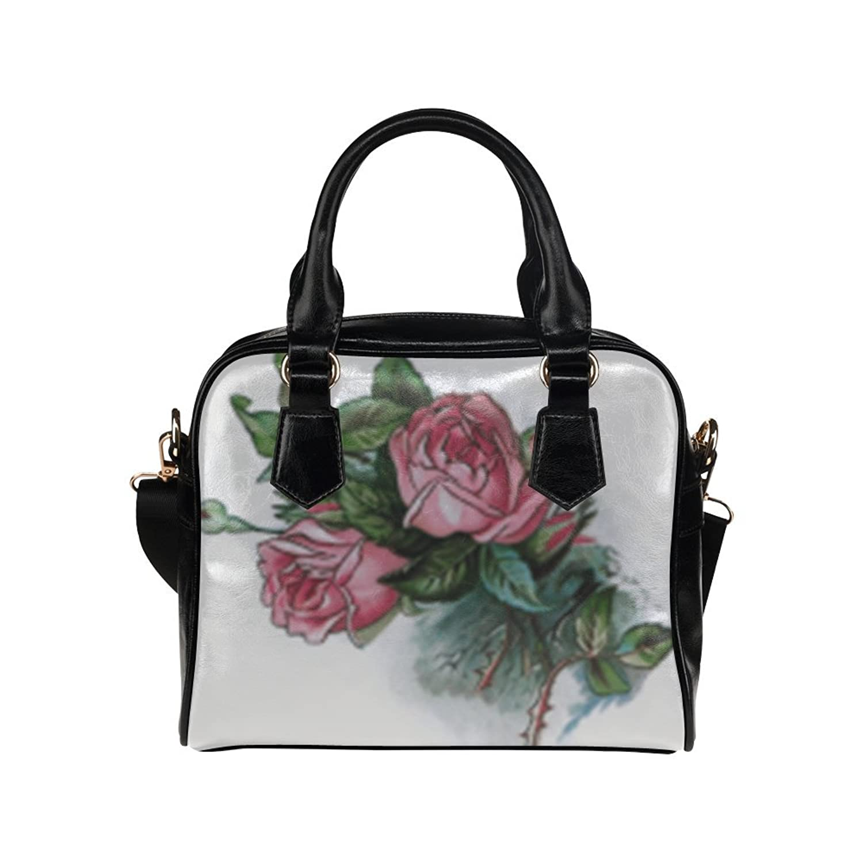Angelinana Custom Women's Handbag Roses Fashion Shoulder Bag