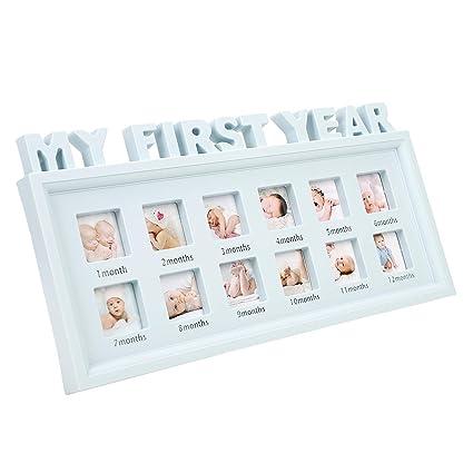 Marco de fotos para recuerdos de recién nacidos, para 12 meses ...