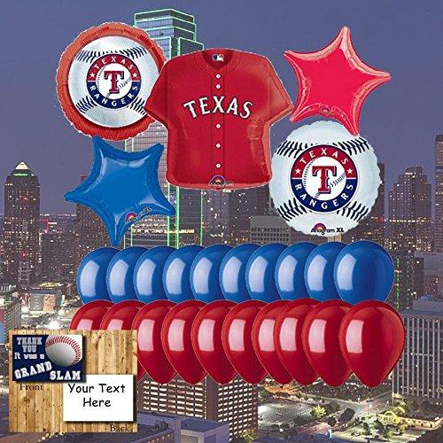 Texas Rangers 25 Pieceバルーンセット   B074S8V8PN