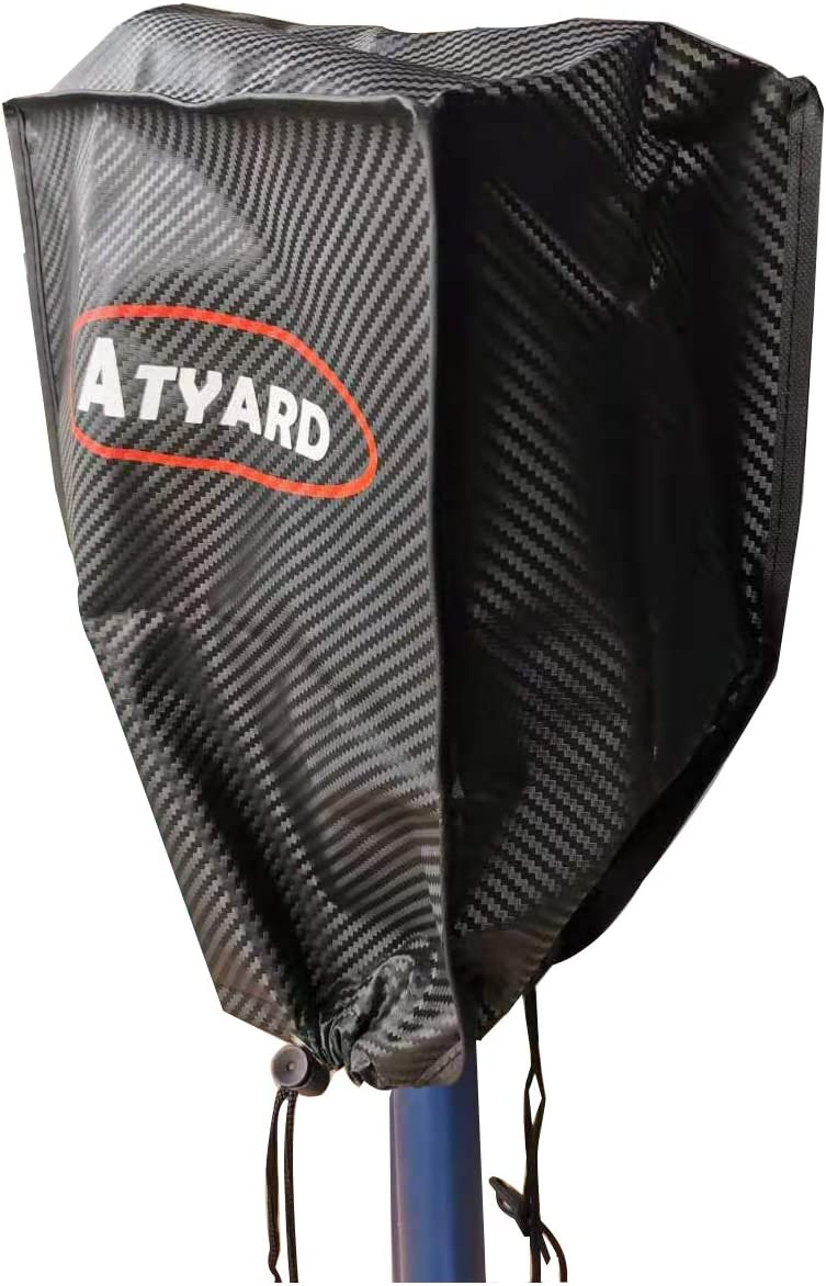 ATYARD RV Electric Jacks Protective Cover Large Size 14/″H x 5/″W x 10/″D Universal 600D Polyester Electric Tongue Jack Cover Trailer RV Electric Tongue Jack Protective Cover