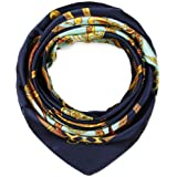35 x 35 Large Square Silk Like Hair Scarf Head Sleeping Wrap Satin Neck Bandana