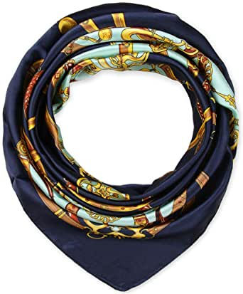 """35"""" Ladies Silk Like Square Hair Scarfs and Wraps Headscarf for Sleeping"""