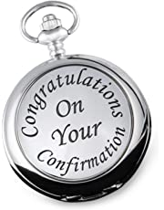 Boy's Confirmation Day Pocket Watch Gift Idea Religious Confirmed Service Gifts