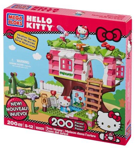 [Mega Bloks Hello Kitty Treehouse] (Monster High Kitty)